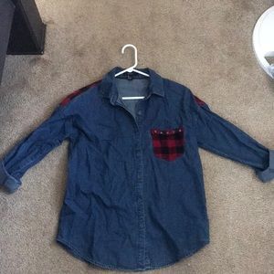 Forever 21 - Denim Button Up